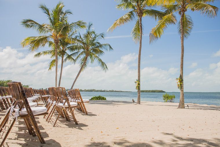 Tropical Beach Ceremony Site Where Love Has No Other Desire To Fulfilled Itself At Key Largo Lighthouse Wedding Venue In The Florida Keys