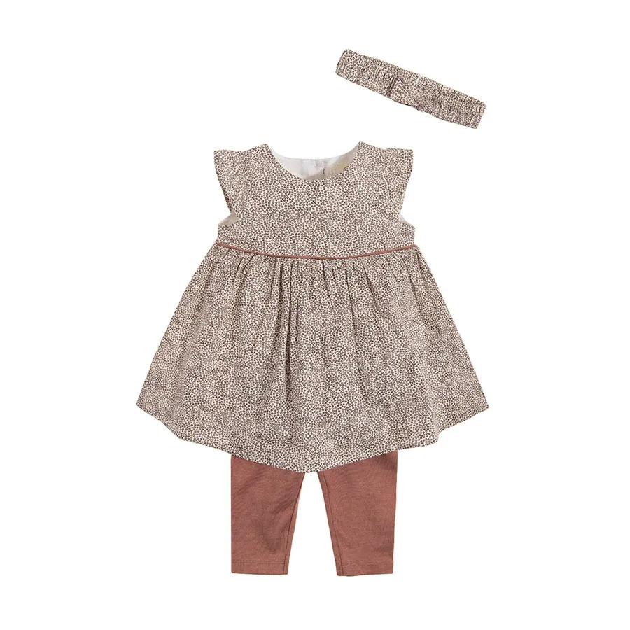 Cool Club Komplet Dziewczecy Sukienka Z Krotkim Rekawem Legginsy Opaska Smyk Com Summer Dresses Dresses Fashion
