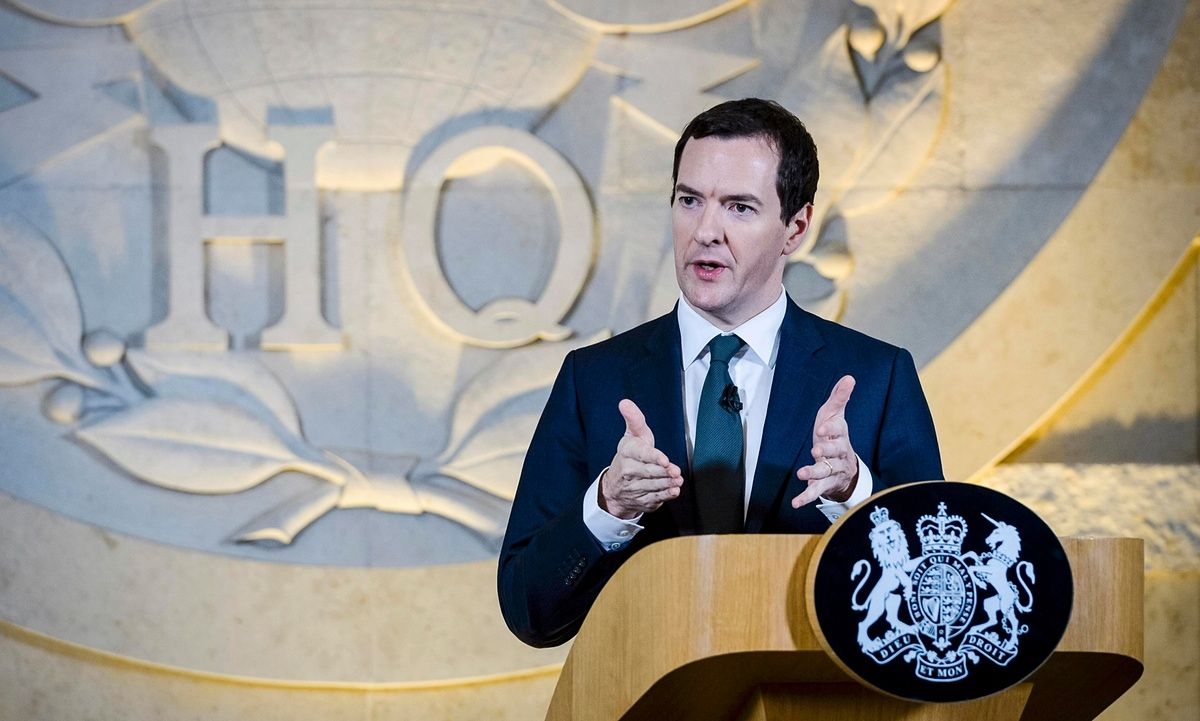 Shock UK deficit figures dent George Osborne's economic plan  Gap between state spending and revenue is worst in October for six years with economists warning chancellor will need further austerity or miss annual target