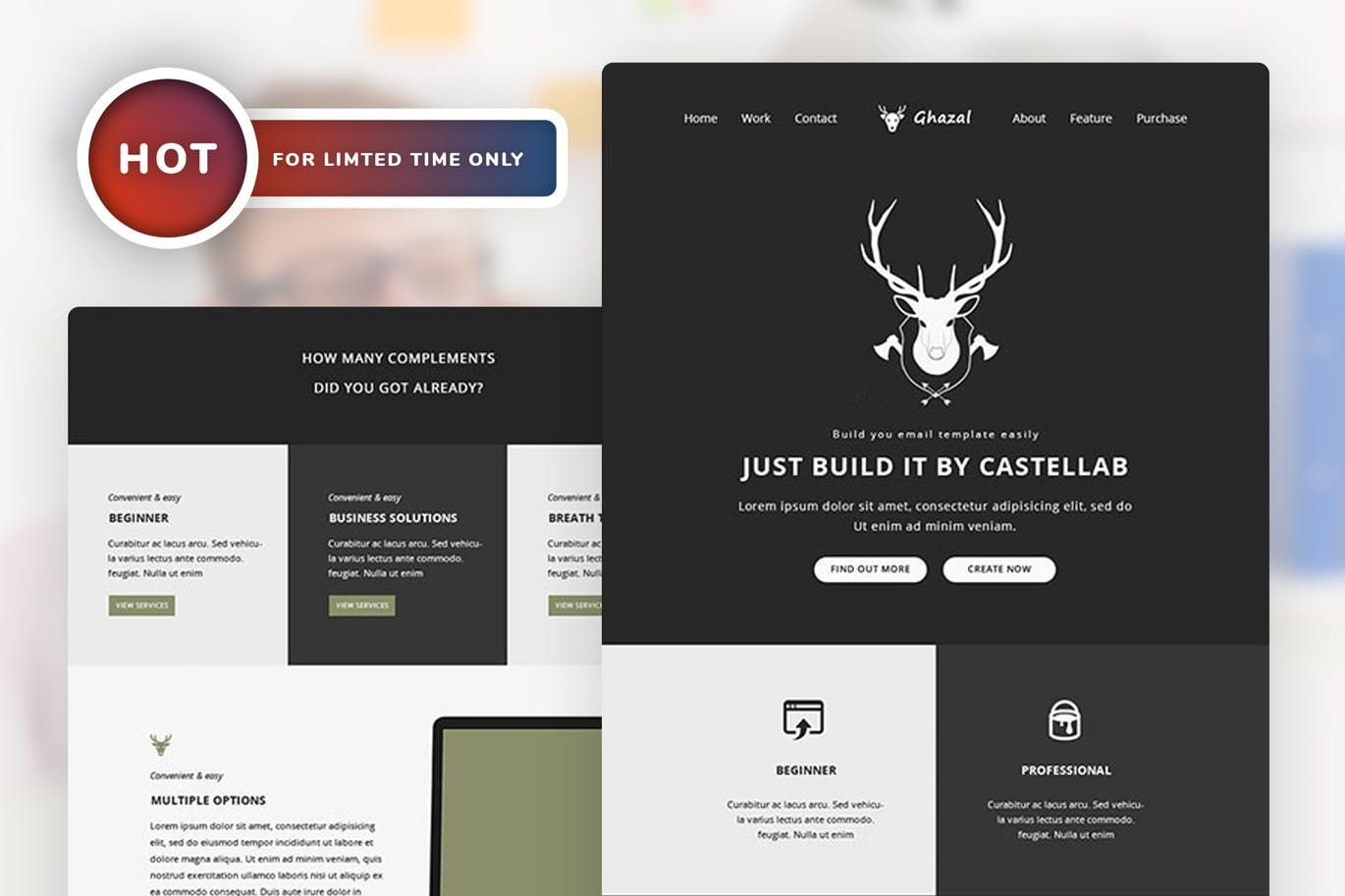 Email Newsletter Template PSD | Email Templates | Pinterest | Email ...
