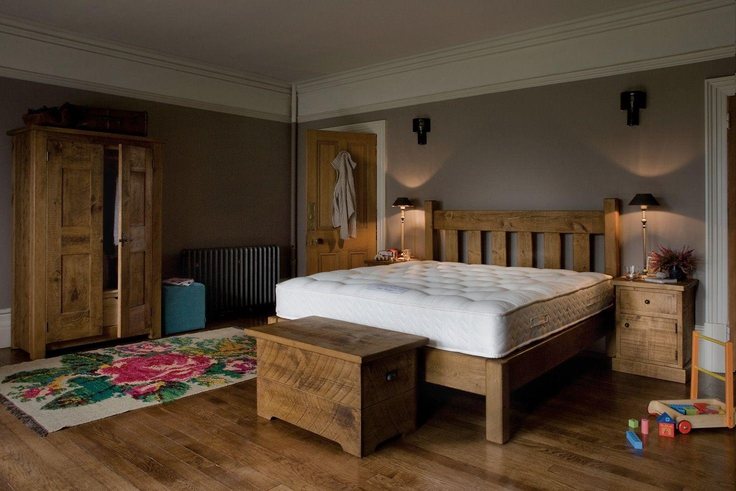 The Granger S Plank Bed No Footend Indigo Furniture Furniture