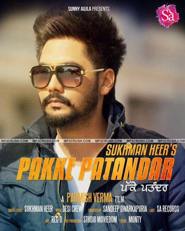 Pakke Patandar Sukhman Heer Mp3 Song Video Lyrics | Mp3 ...