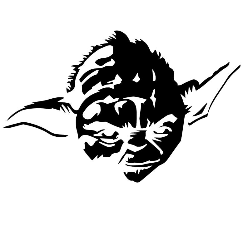 Star Wars Yoda Studio File Download   Star Wars   Pinterest   Cuarto ...