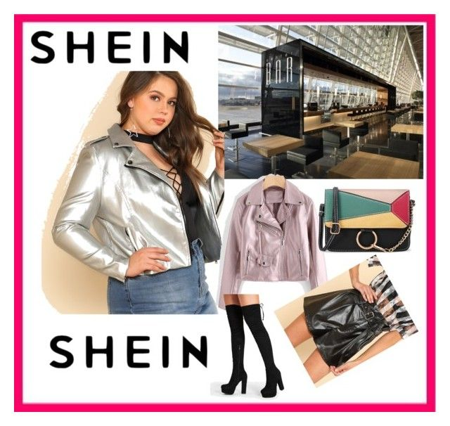 """SHEIN  9/ 3"" by fatimazbanic ❤ liked on Polyvore featuring plus size clothing"