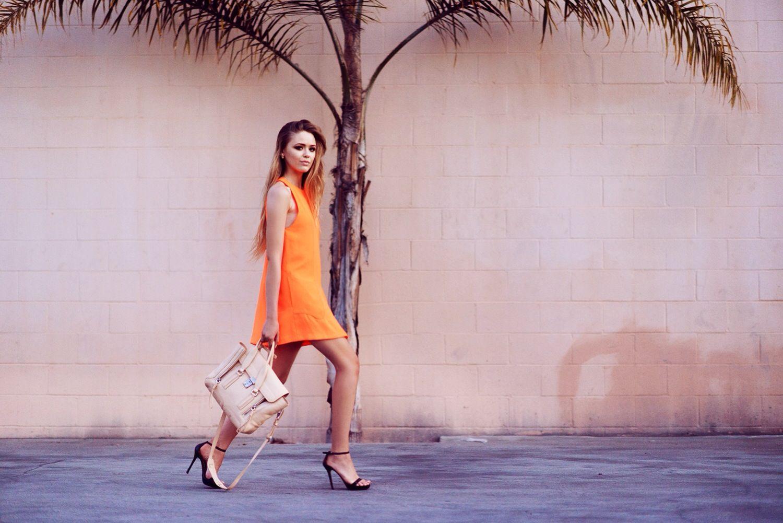 Kayture orange dress