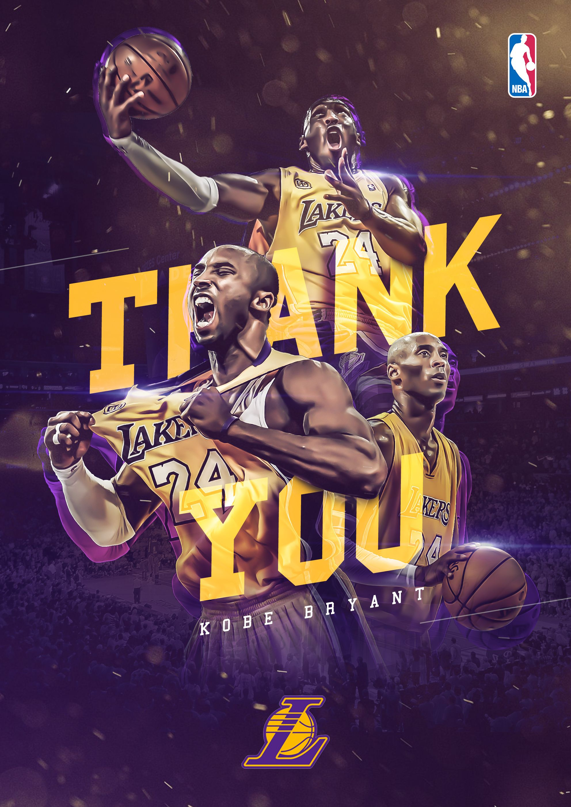 tribute to kobe bryant congratulations on the brilliant career and