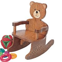 WOODEN CHAIR FOR  DOLLS OR TEDDY BEARS