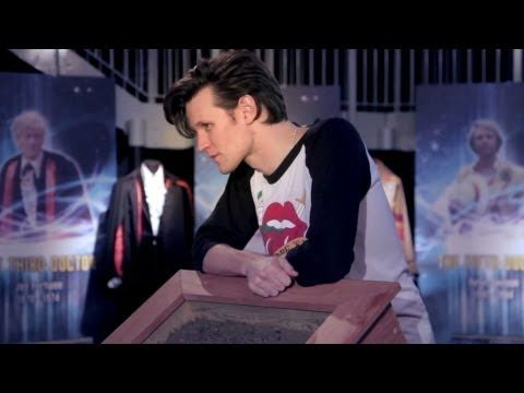 Matt Smith visits the Doctor Who Experience in Cardiff - BBC