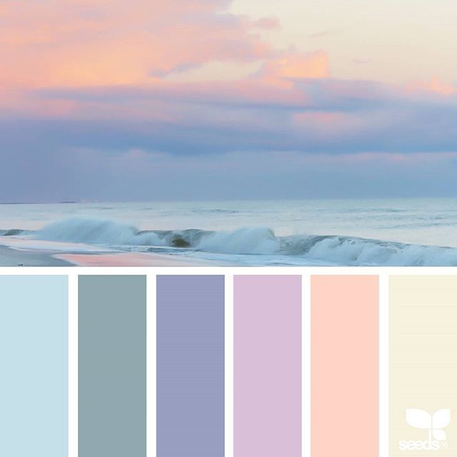 Farbpalette Blau, Schlafzimmer-farbschemata