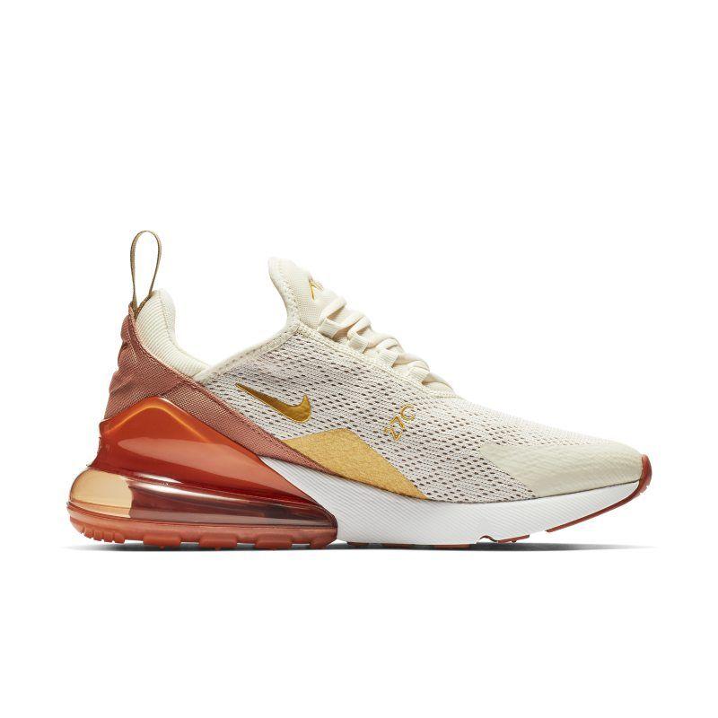 Nike Air Max 270 Women's Shoe Cream | Sport shoes fashion