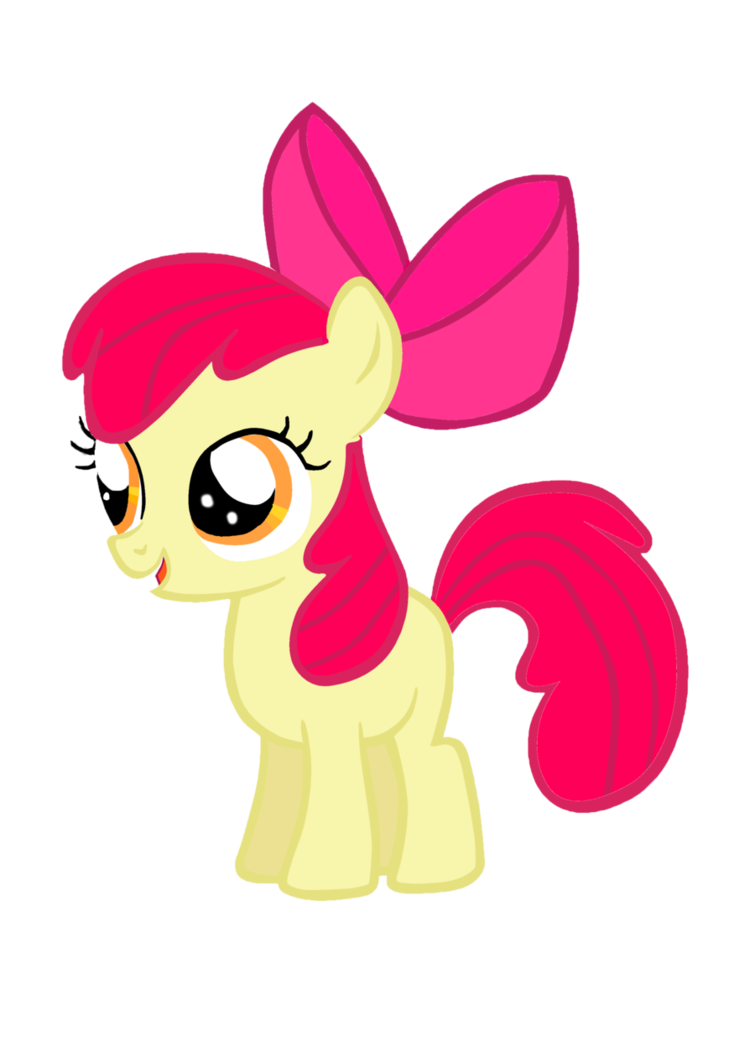 My little pony coloring pages apple bloom - My Little Pony Baby Apple Bloom Buscar Con Google