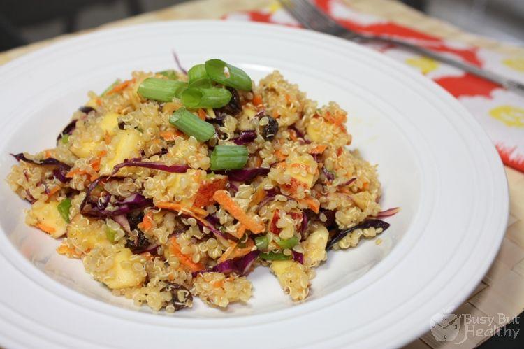 rainbow quinoa salad... yes yes yes
