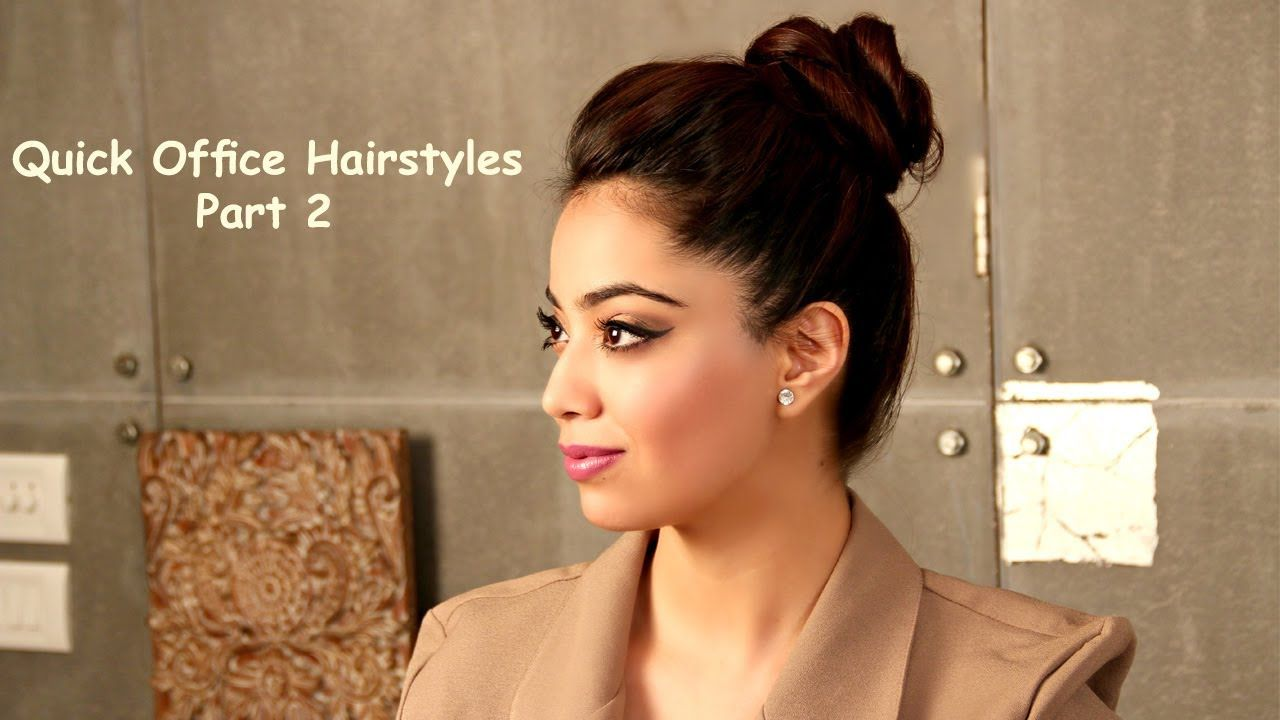 fomo : quick office hairstyles-part 2 (english) - youtube