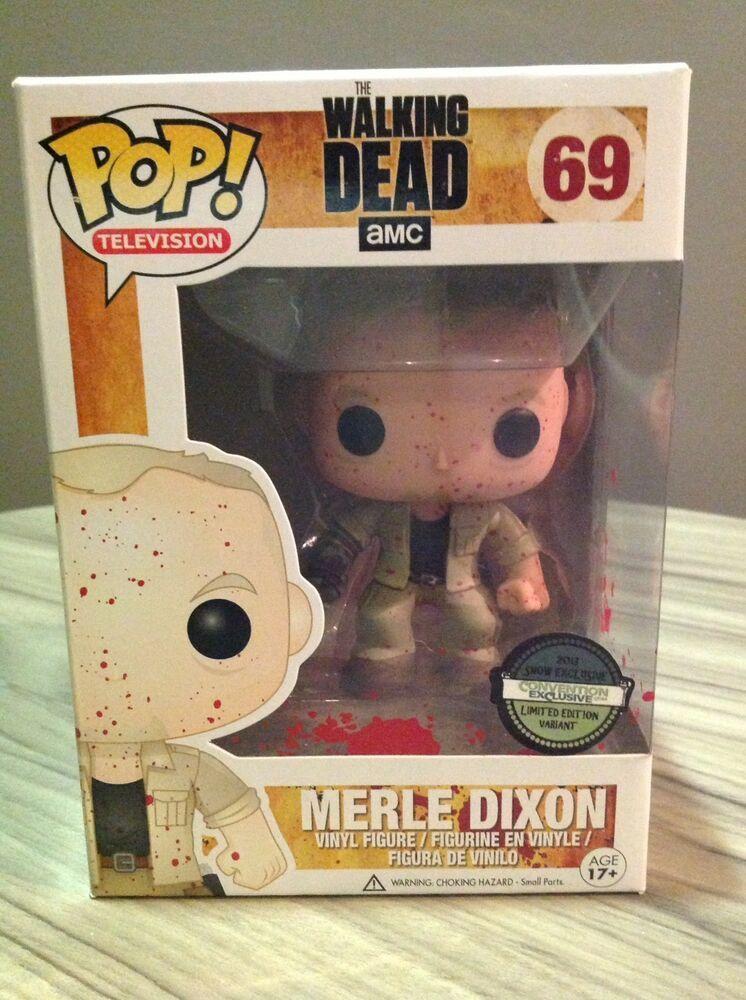Funko Pop! TV Walking Dead Merle Dixon Bloody Tampa Bay
