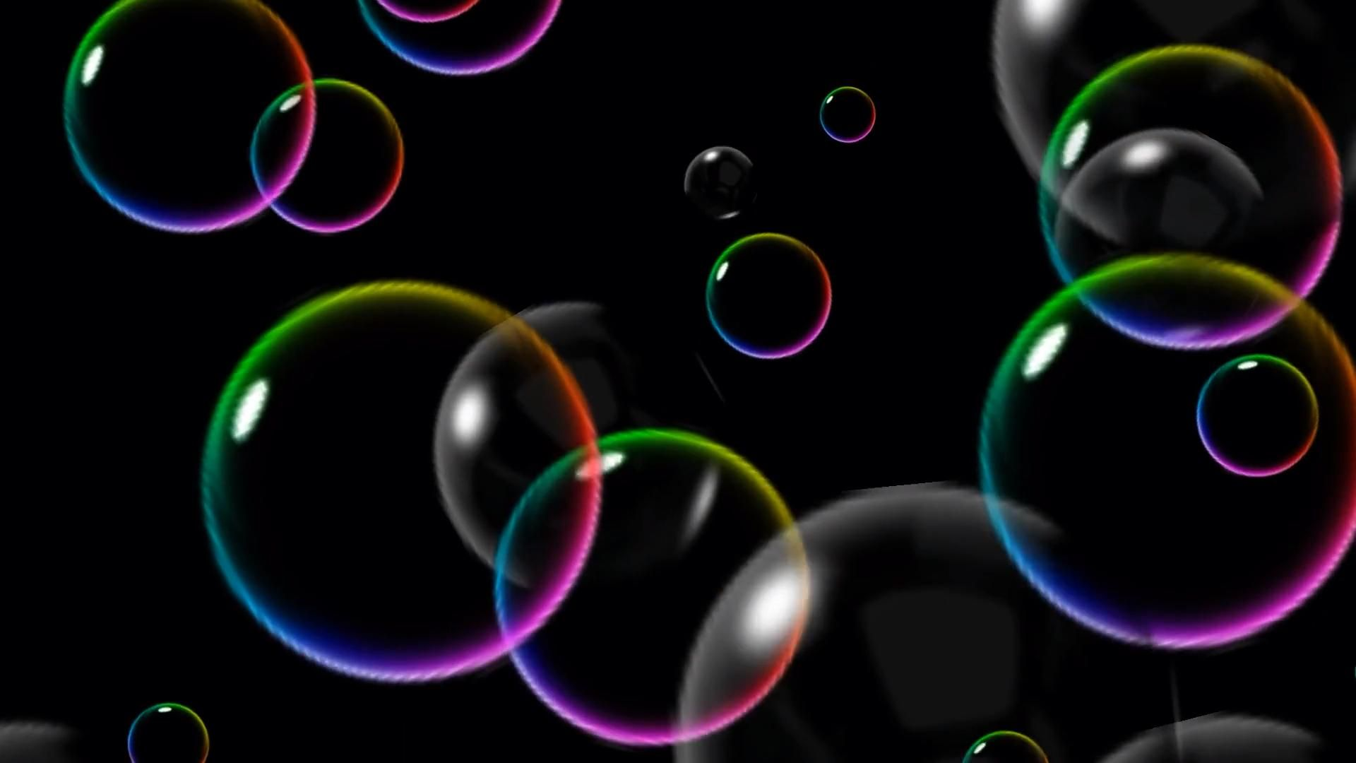 Free Motion Graphic Virtual Background Neon Rainbow Floating Bubbles Vj Loop Video Motion Wallpapers Bubbles Bubbles Wallpaper