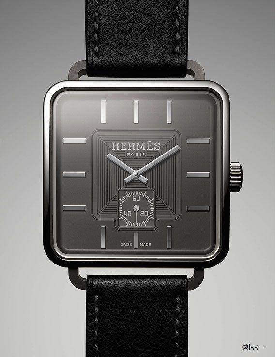 Hermès watch @}-,-;—