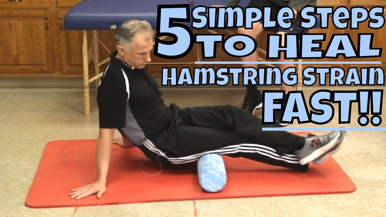 how long for a torn hamstring to heal