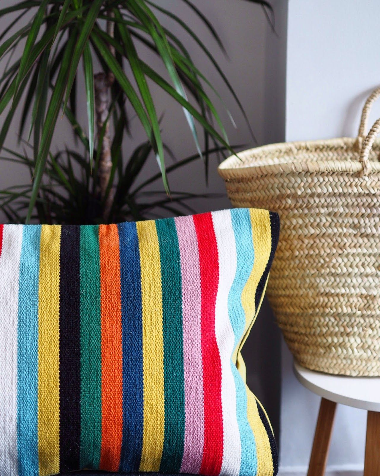Interior Inspiration: Market Baskets (Plus, A Giveaway!) | angloyankophile