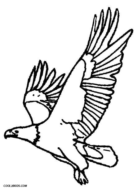 eagle coloring pages for kids - photo #45