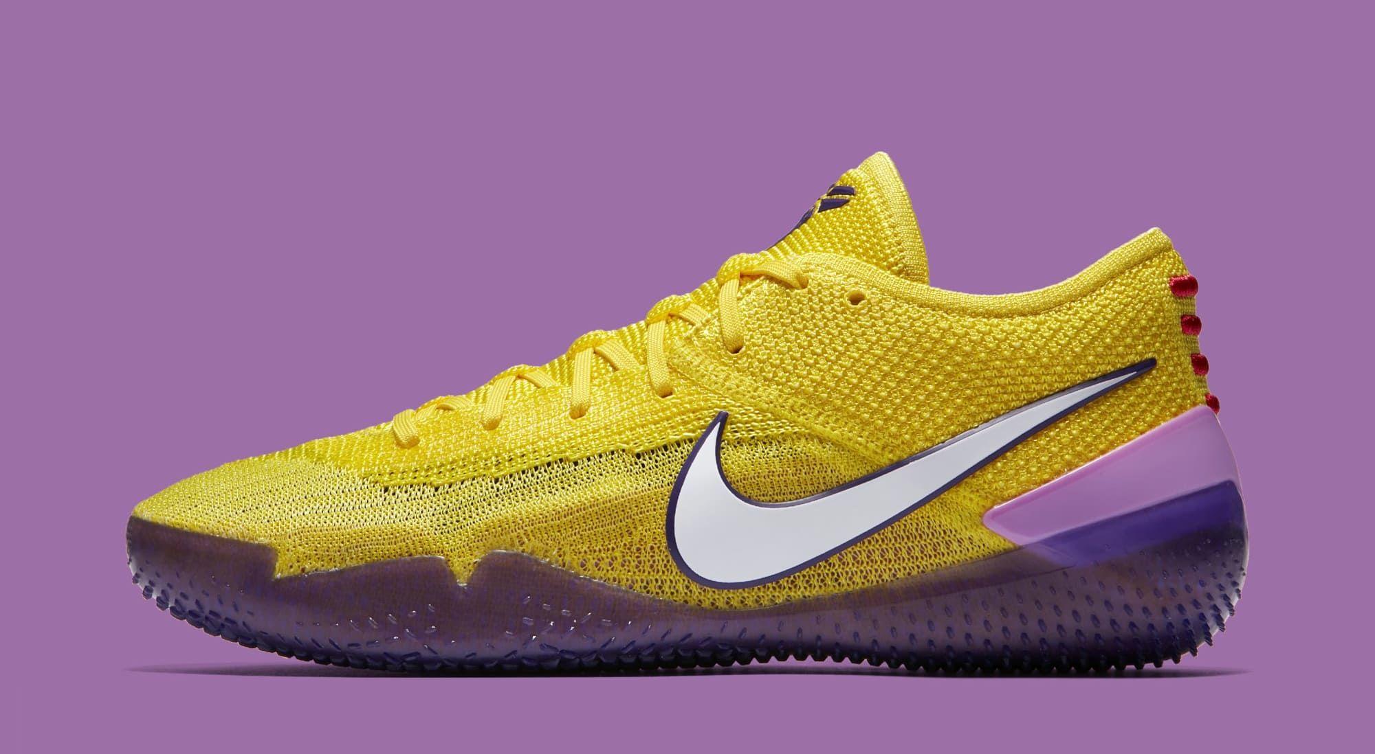 Nike Kobe A.D. NXT 360 'Yellow Strike