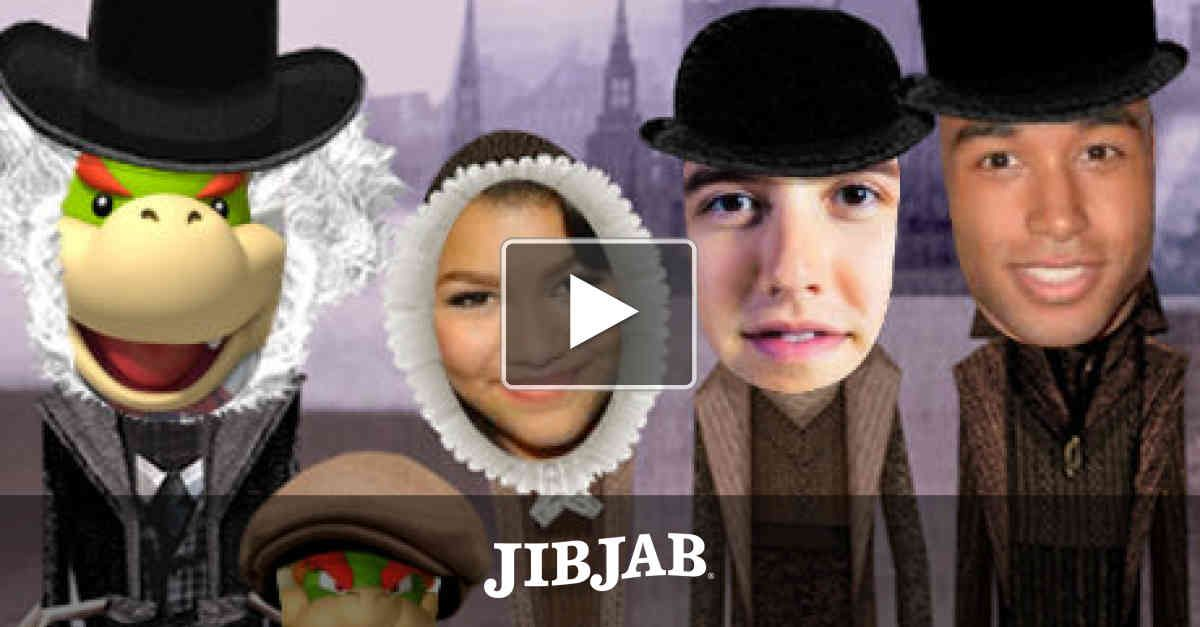 """Have a Dickens of a time by casting yourself as Scrooge and getting an attitude makeover from three ghosts. Talk about the Christmas """"spirit!"""""""