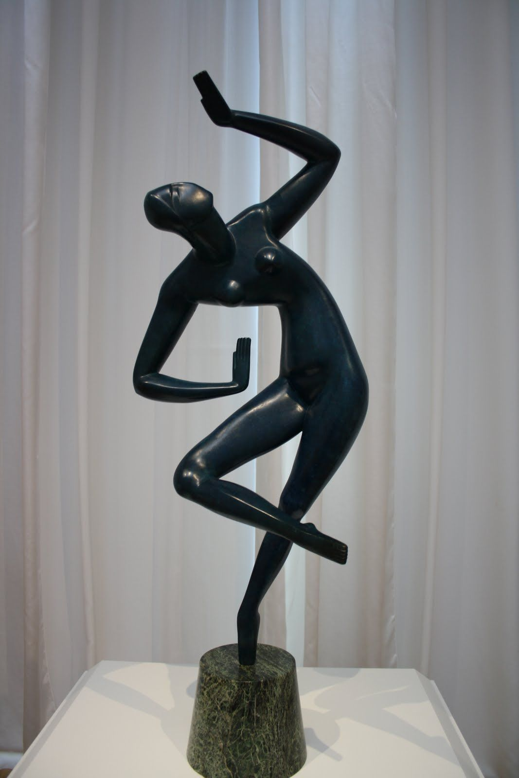Blue Dancer by Alexander Archipenko