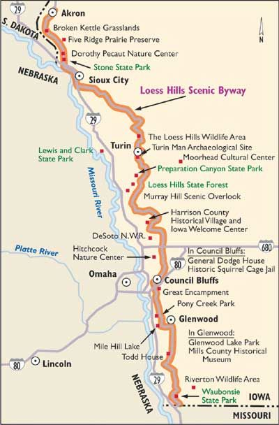 Iowa Scenic Drives Loess Hills Scenic Byway Iowa Road Trip Iowa Travel Scenic Drive