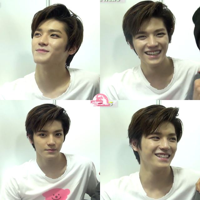 Taeyong #SMROOKIES -- now , NCT U || Cute smilee <3 my heart