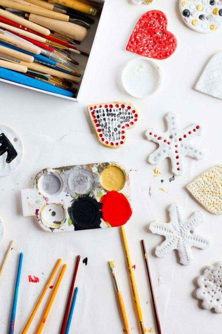 ideen verzieren weihnachtsgeschenke basteln kinder | Basteln mit ...