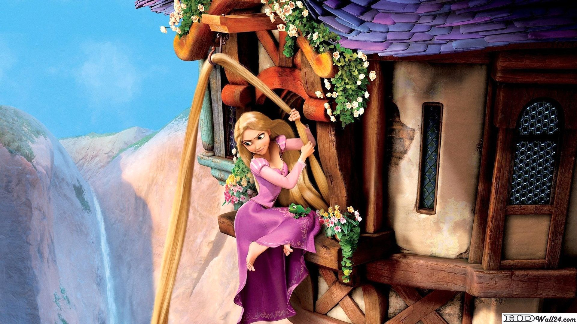 Princess Tangled Hd Wallpaper From Free Hd Wallpapers Download From Hdwall24 Various Kinds Of Wallpapers Fair Free Tangled Wallpaper Tangled Movie Rapunzel