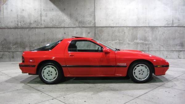 1987 Mazda Rx 7 Turbo Ii 03 Cars Mazda Rear Wheel Drive