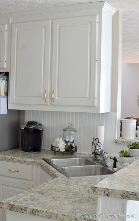 How To Install A Beadboard Backsplash Beadboard Kitchen