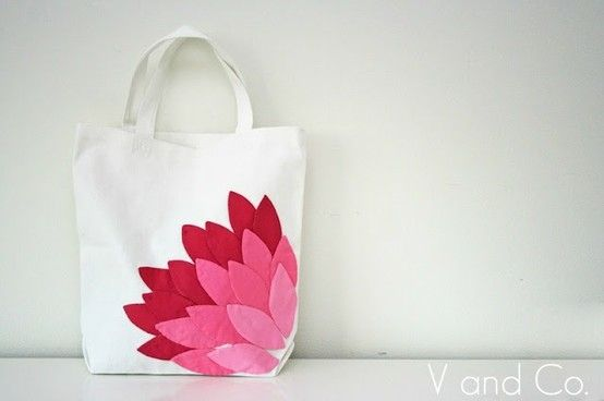 Peony bag