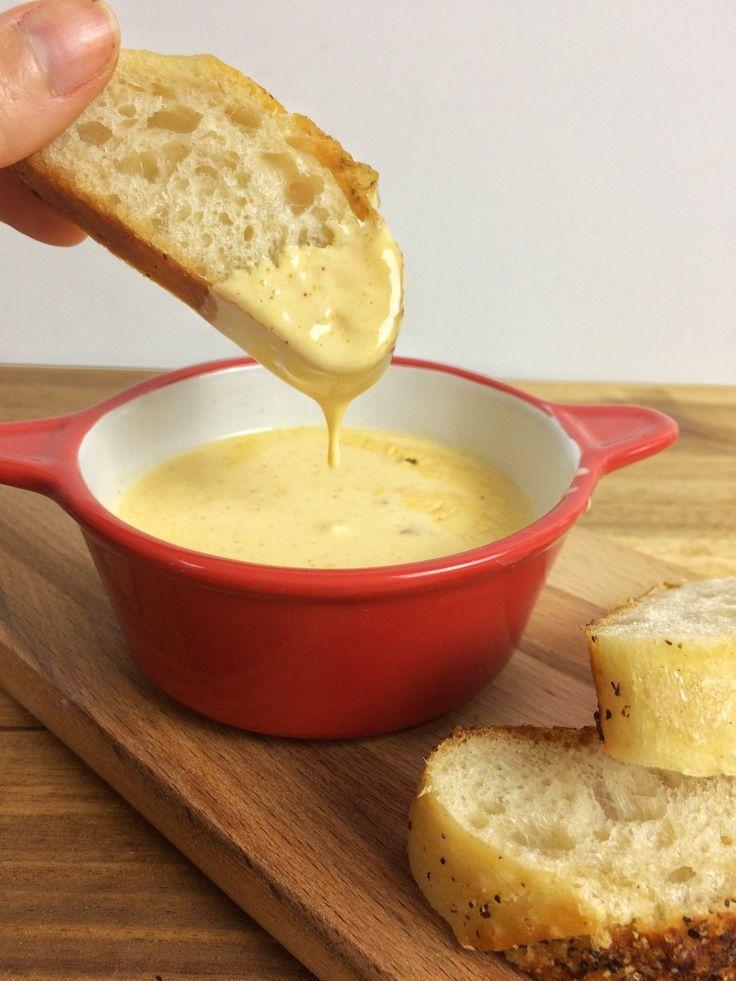 Käsedip für Nachos » Caros Küche   Schnelle und einfache Rezepte
