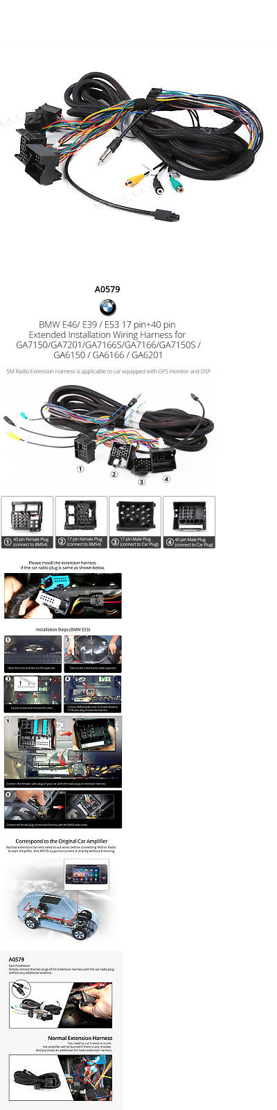8777793387a0c5848abfccd0248158d6 other car electronics accs a0579 e1 bmw extended wiring harness Wiring Harness Diagram at aneh.co