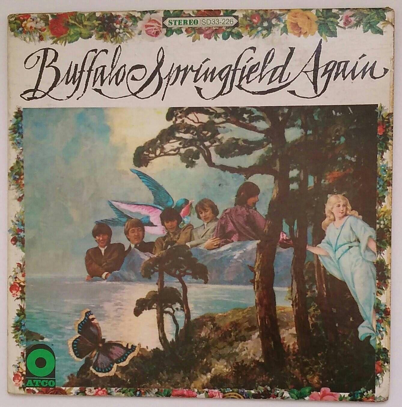 BUFFALO SPRINGFIELD - Again, 1967 stereo vinyl long-playing
