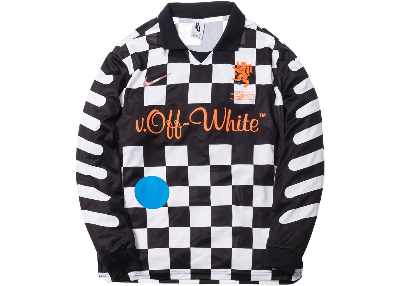 385d2027 Check out the Nikelab x OFF-WHITE Mercurial NRG X FB Jersey Black available  on StockX