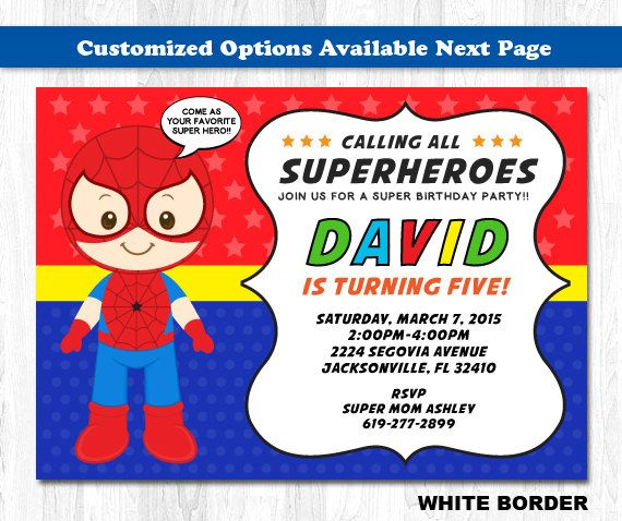 Spiderman invitation spiderman invite spiderman by kidzparty items similar to spiderman invitation spiderman invite spiderman birthday invitation spiderman birthday invite on etsy stopboris Image collections