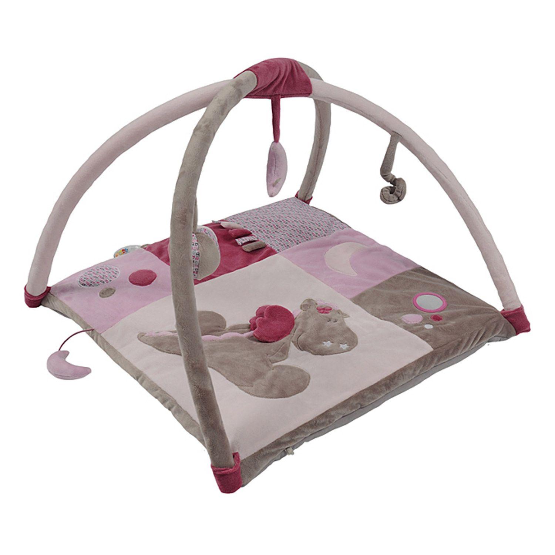 Victoria et lucie tapis d 39 veil gris de noukies tapis d 39 veil aubert b binou bebe - Tour de lit noukies victoria et lucie ...