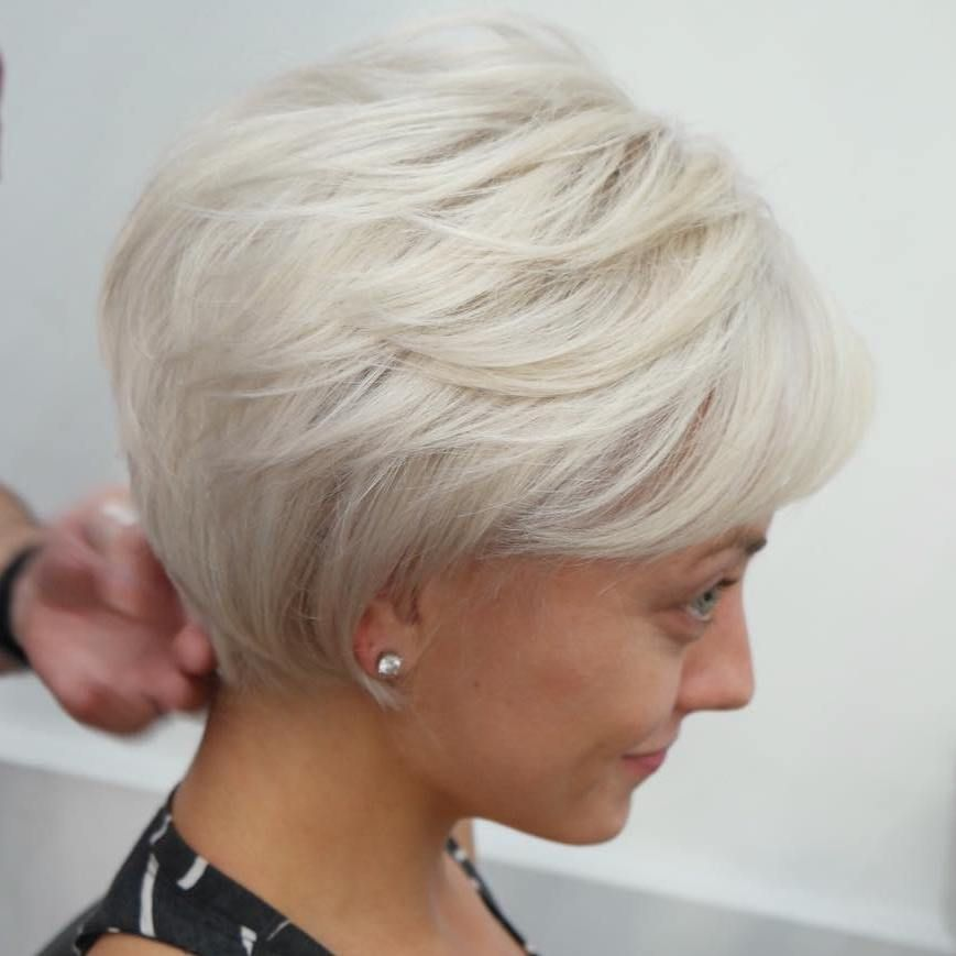 100 Mind Blowing Short Hairstyles For Fine Hair Short Hair With Layers Hair Styles Thin Hair Haircuts