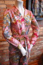 Vintage late 1950's Leslie Fay Polyester Pantsuit Size 2-4