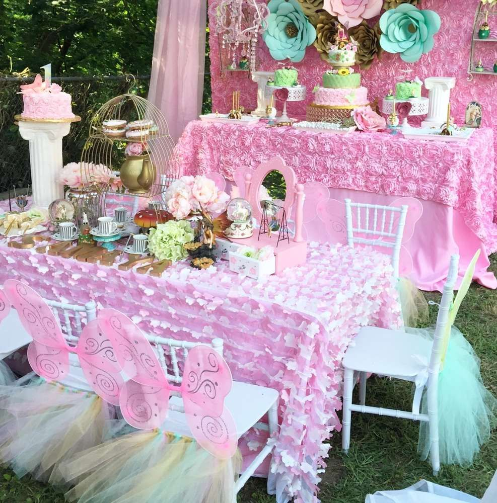 Fairy Tale/Garden Tea Party Birthday Party Ideas