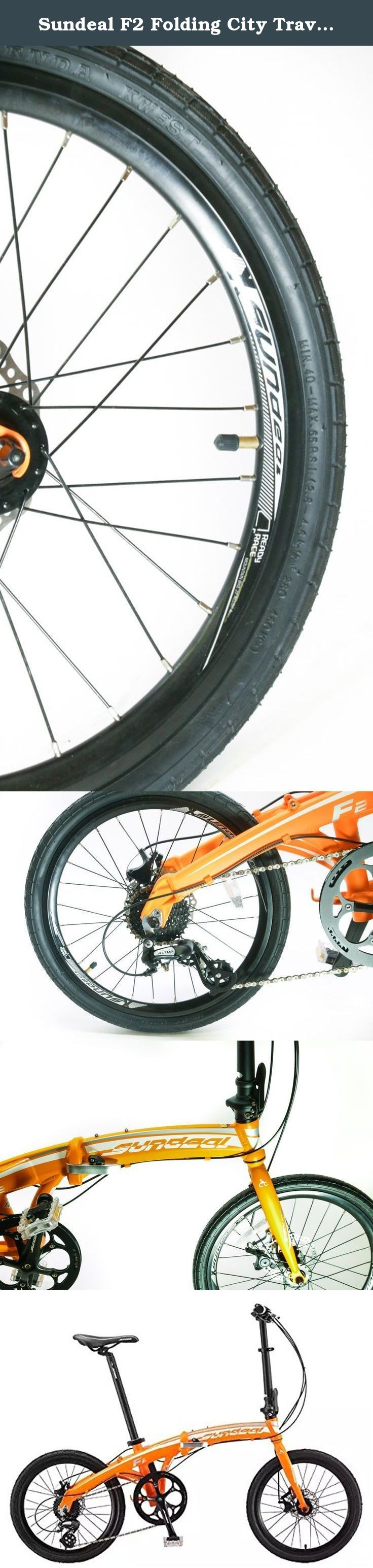 Sundeal F2 Folding City Travel Alloy Bike 20\