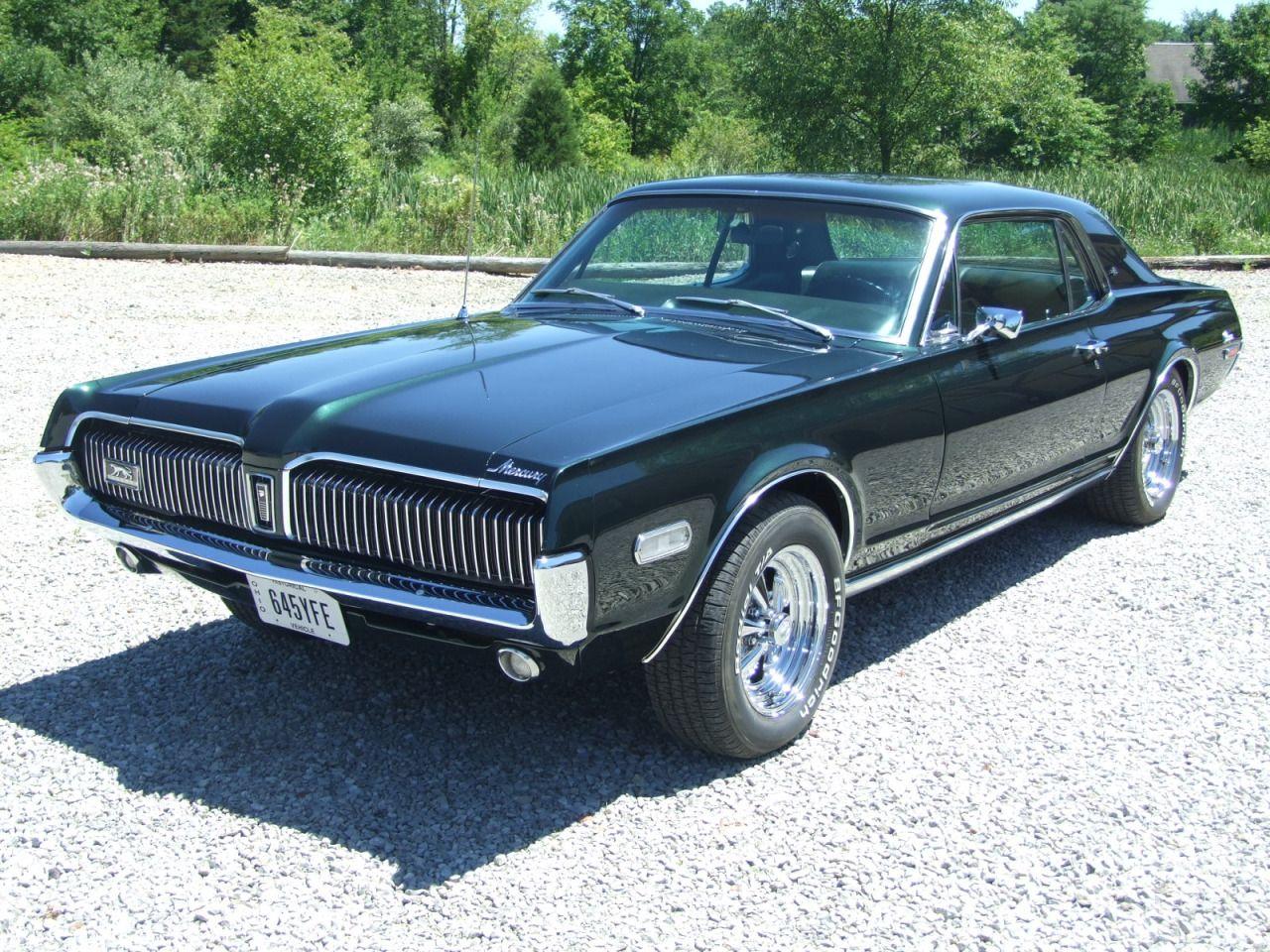 American Muscle Cars… 1968 Mercury Cougar XR7 | Virtual Car Show ...