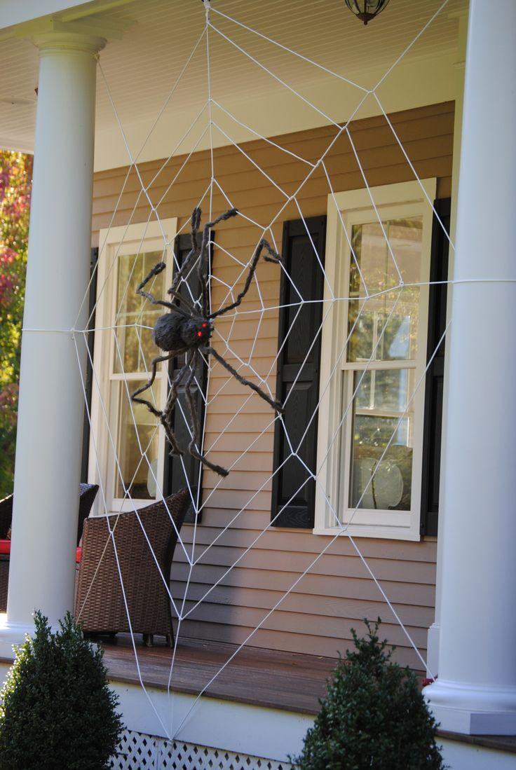 DIY Halloween Decorating Ideas u0026 Projects | DIY Halloween Spider webs and Spider & DIY Halloween Decorating Ideas u0026 Projects | DIY Halloween Spider ...