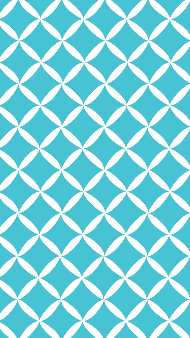 IPhone 5 Wallpaper Diamond Pattern Aqua