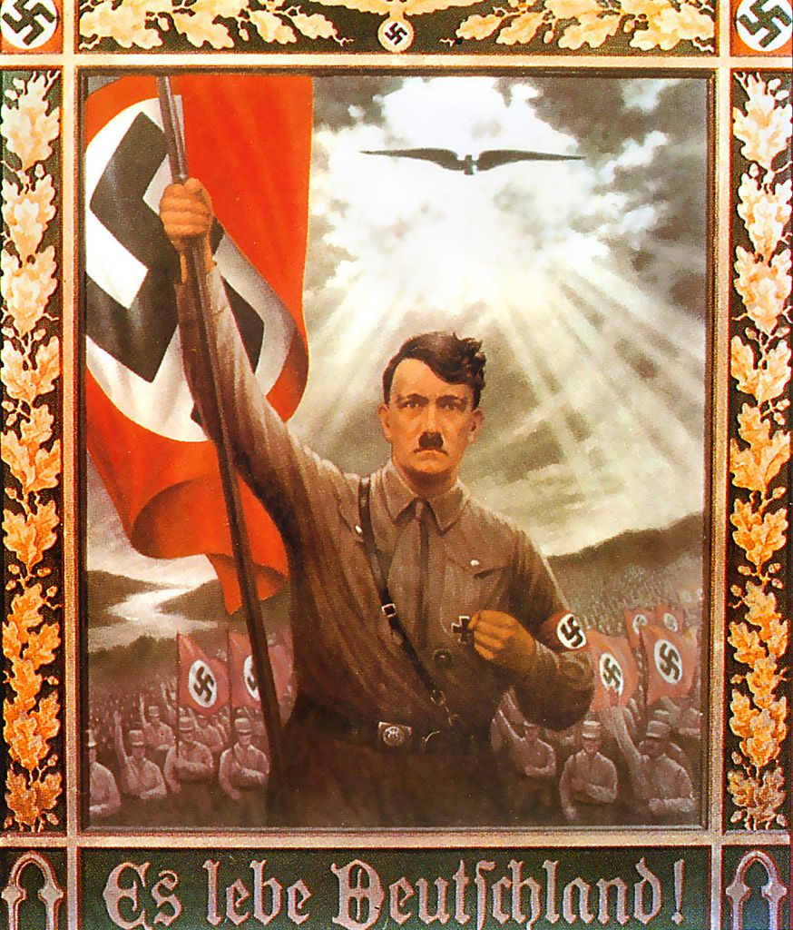 essay on hitlers propaganda Propaganda is a systematic, widespread dissemination or promotion of particular ideas, doctrines, practices, etc some use it to cause or to.