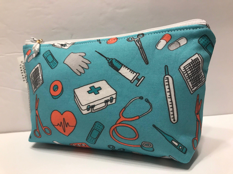 doctors nurses Zippered pouch medical bag