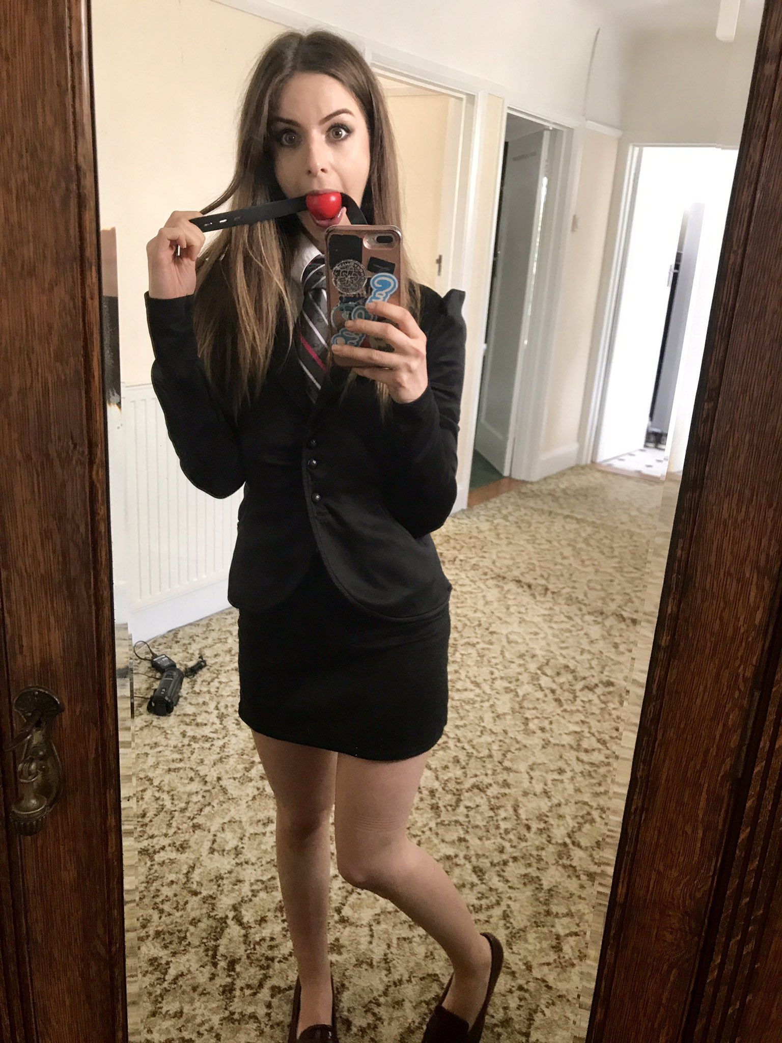 Stella Cox: ⛓ | Women wearing ties | Pinterest | Cox and ...