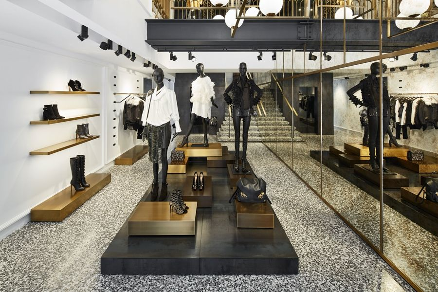 Humbert poyet adopts an opulent art deco style for the 55 croisette boutique